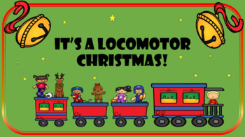 Locomotor Christmas Movement Cards