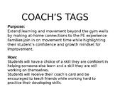 Locomotor Coach Tags