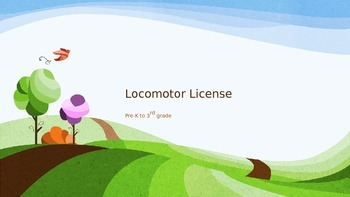 Locomotor License