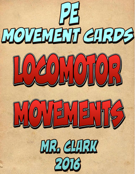 Locomotor Movement Cards