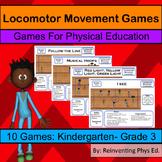 Locomotor Movement Game: 10 Fundamental Movement Phys Ed Games