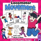 Locomotor Movements | Clip Art Kids