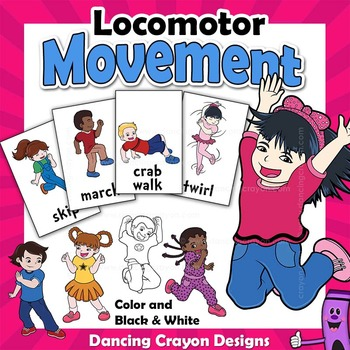 Locomotor Movements | Clip Art Kids