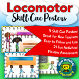 Locomotor Skill Cue Posters and Activities for Physical Ed