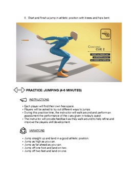 Locomotor Skills Lesson Plan for Jumping