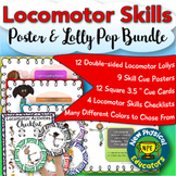 Locomotor Skills Super Bundle for Physical Education, Elementary