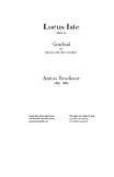 Locus Iste - Bruckner - Score