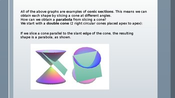 Locus and Conic Sections