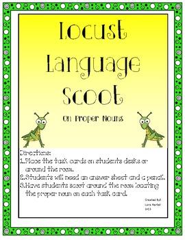 Locust Language Skills Proper Noun Scoot