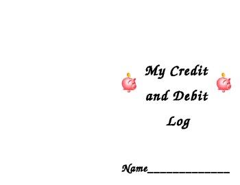 Log Book for Classroom Management Money System