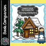 Little House Log Cabin Compare and Contrast Book Companion-Pioneer Days