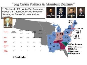 Log Cabin Politics and Manifest Destiny