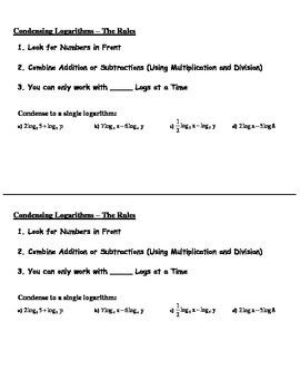 Log Property Steps