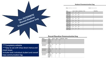 Log and Organize Your Parent Student Communication