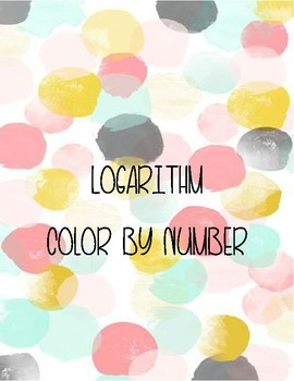 Logarithm Color by Number