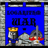 Logarithm WAR - a card game