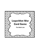 Logarithm War Card Game - Evaluating Logarithms
