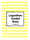 Logarithmic Functions Guided Notes