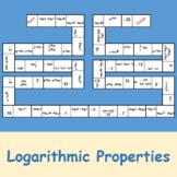 Logarithmic Properties (Dominoes)