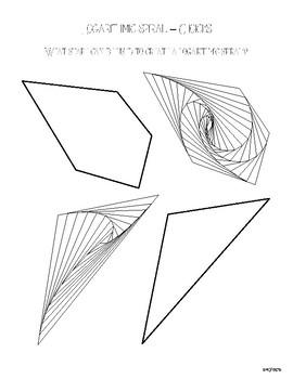 Logarithmic Spiral Art