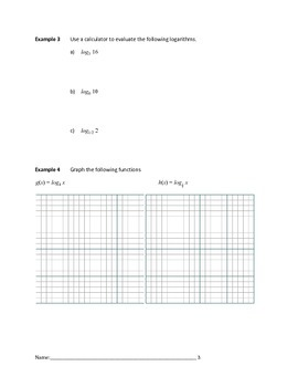 Logarithmic and Exponential Functions Lesson 3 of 5