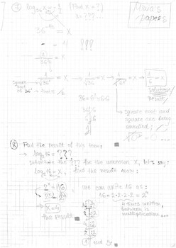 Logarithms - Basics, definition, and exercises;