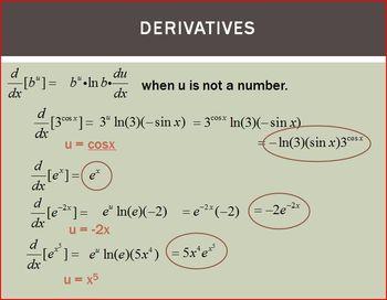 Logarithms Exponentials Derivatives (PP)