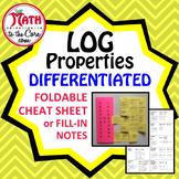Logarithmic Properties