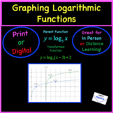 Logarithms: Graphing and Transforming
