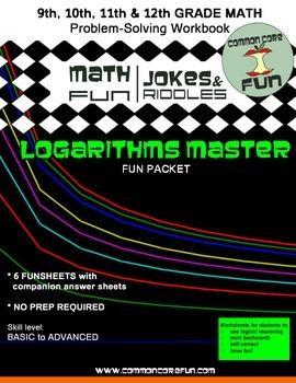 Logarithms FUN Joke Packet