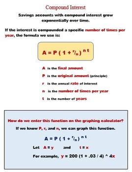 Logarithms Lesson 6:  Solve Word Problems with Algebraic and Graphical Solutions