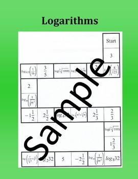 Logarithms – Math puzzle