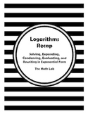 Logarithms Recap
