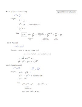 Logarithms Review Packet