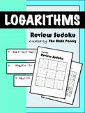 Logarithms - Review Sudoku