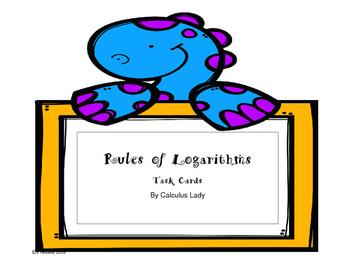 Logarithms - Task Cards