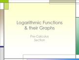 Logarithms & Their Graphs