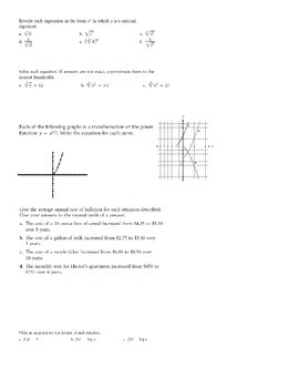 Logarithms and Exponentials Review