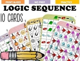 Logic Critical Thinking Puzzles - Find the Sequence