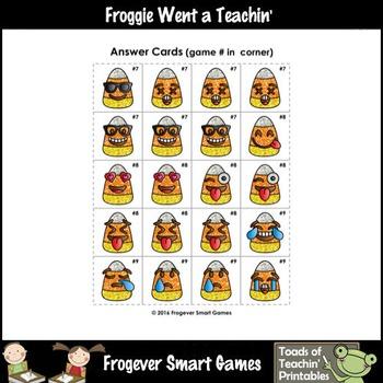 "Logic--Emoji Sudoku Puzzle Gameboards/Emoji Candy Corn Theme ""Happy Halloween"""