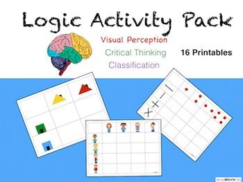 Logic Activity Pack Ages 4-7