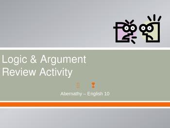 Logic & Argument Review PPT