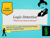 Logic Mystery Powerpoint Game for K 1st 2nd - FUN for Dist