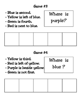 Logic Math Games