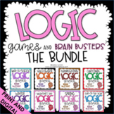 Logic Puzzles - Includes End of the Year - Google Classroom Distance Learning