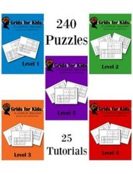 Logic Grids for Kids Bundle