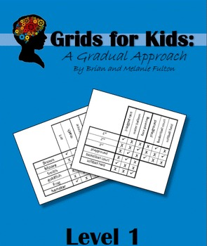 Logic Grids for Kids:  Level 1