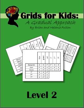 Logic Grids for Kids:  Level 2
