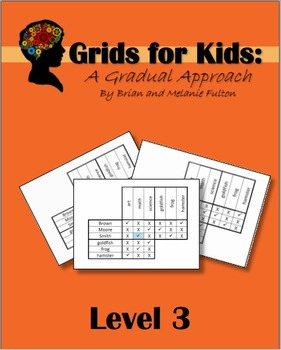 Logic Grids for Kids:  Level 3