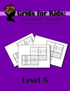 Logic Grids for Kids:  Level 5